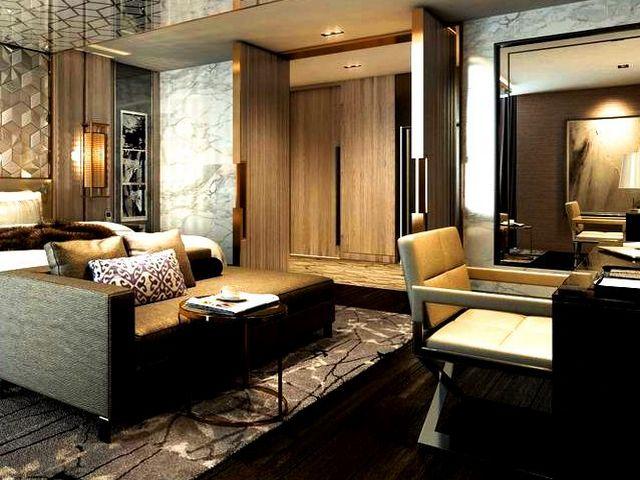 مساحات الغرف في افضل فنادق دبي على البحر متنوعة تناسب الجميع
