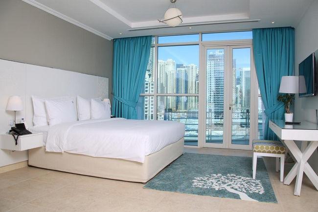 غُرف فنادق دبي مارينا تُوفر للضيوف أعلى مستوى من الأريحية