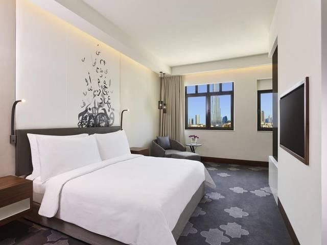 يتميز  فندق المنزل دبي بموقع مُميز وغرف بديكورات أنيقة جعلته الأفضل بين فندق بوليفارد دبي
