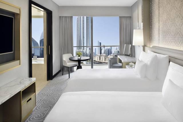 فندق العنوان دبي مول يتميّز بغرف مُتنوعة وخدمات رائعة كـ افضل فندق بوليفارد دبي