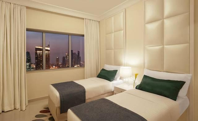 تتميّز الوحدات في فندق داماك ميزون دبي مول بإطلالات مُميّزة دوناً عن فندق بوليفارد دبي