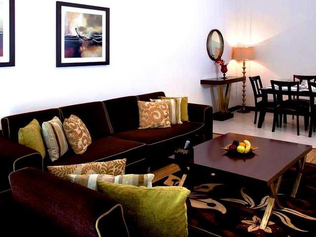 تعتبر مرافق الشقق الفندقية في بر دبي متكاملة