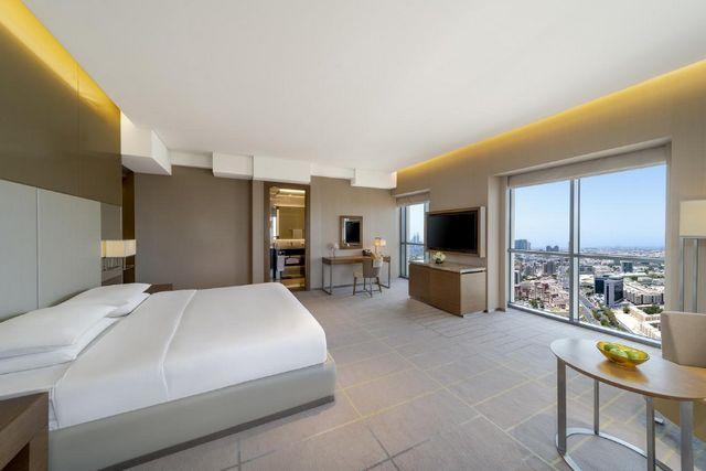 تضم فنادق بر دبي 3 نجوم غرف واجنحة عصرية الديكورات