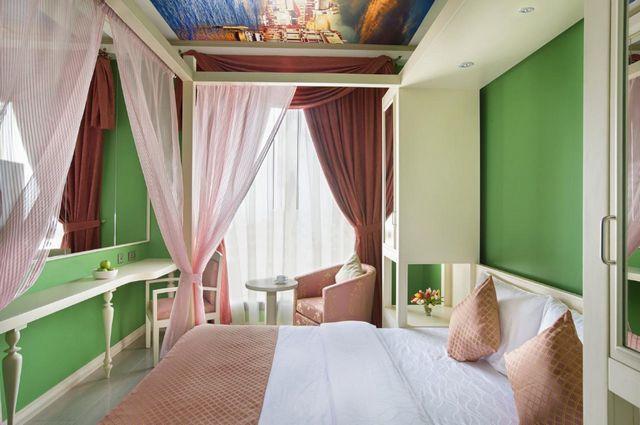 تضم فنادق بر دبي 3 نجوم غرف راقية مُنمقة