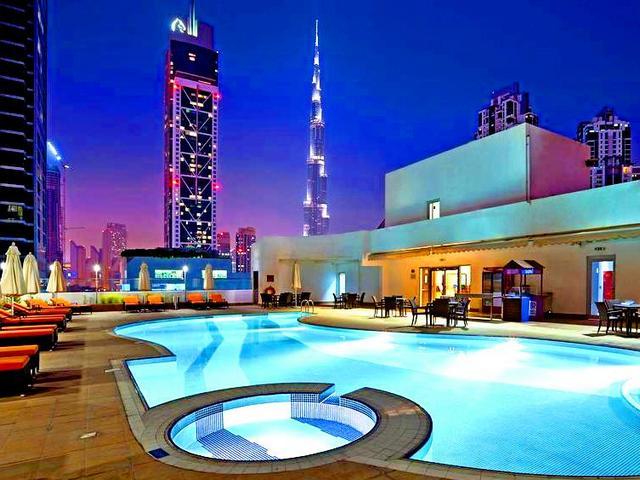 بعض مرافق شقق سيتي ووك دبي