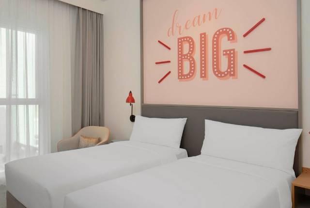 فندق روف ات ذا بارك افضل فنادق دبي 3 نجوم وذلك لإحتوائه كافة سُبل الراحة.