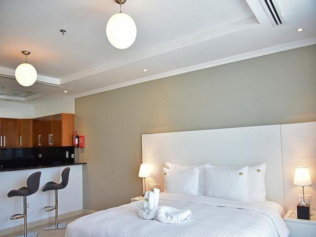 يلائم فندق جنة مارينا بي سويتس العائلات كونه يضم أجنحة فسيحة تجعله مميزاً بين فنادق في مارينا دبي .