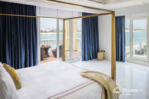 في غُرف فيلا دريم ان دبي ، يحظى النُزلاء بإقامة مُريحة.