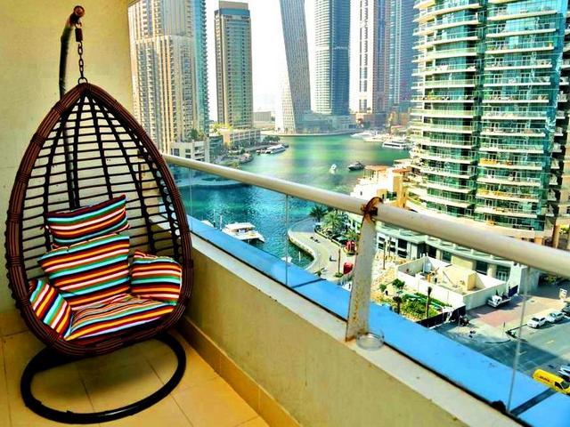 مرافق الشقق الفندقية في دبي غالباً ما تكون على شكل مسبح، سبا وغرفة لياقة بدنية