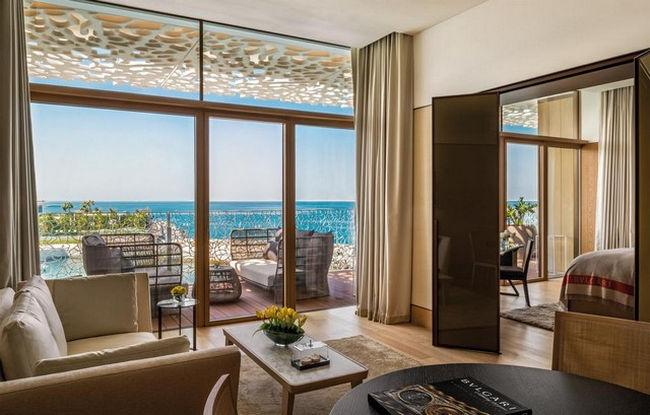دبي منتجع على البحر مُباشرة مع تراس رائع