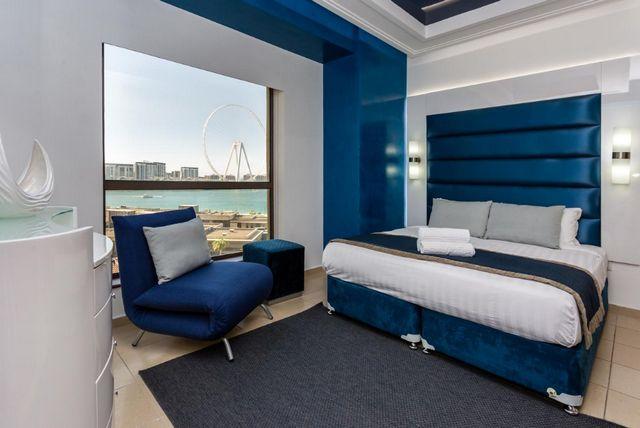 توفر شقق فندقيه دبي الجي بي ار غرف فسيحة عصرية تضم كافة وسائل الراحة