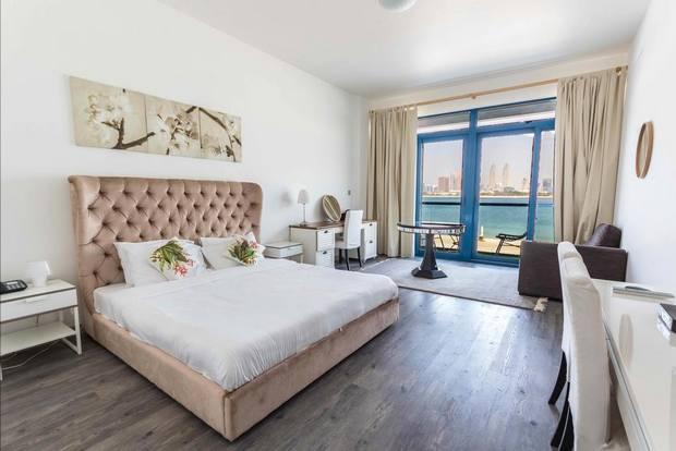 فلل النخله جميرا خيار راق للإقامة على شواطئ دبي.