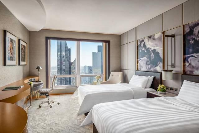 فندق شانغريلا دبي من أرقى فنادق دبي شباب لاحتوائه على أهم المرافق والخدمات التي يُفضلها الشباب