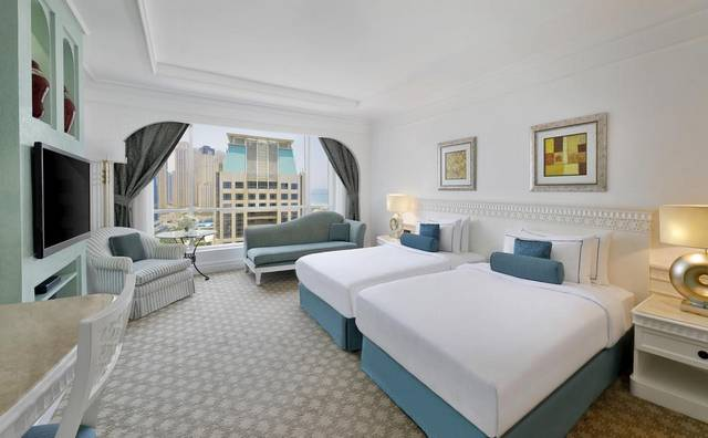 منتجع حبتور جراند أوتوجراف كولكشن من افضل الفنادق للعائلات لكونه يضم خدمات عائلية مُتعددة