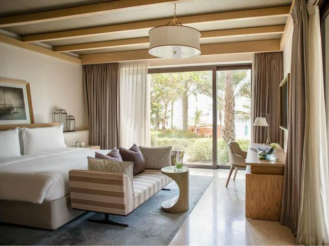 فندق جميرا النسيم دبي من افضل الفنادق مع العاب مائية حيث تحتوي على شاطئ خاص