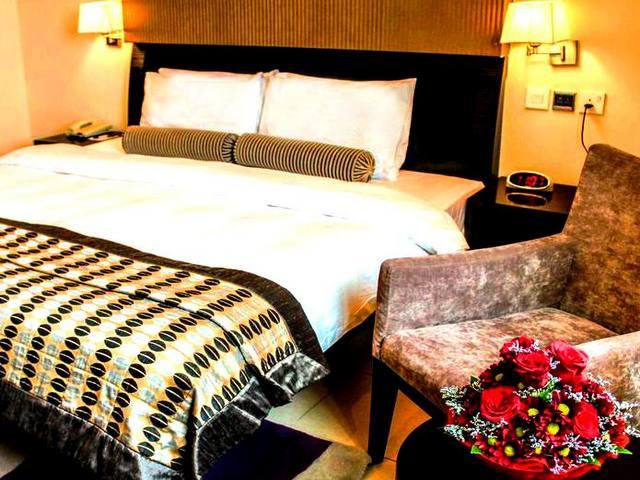 مساحات الإقامة في ديونز للشقق الفندقية عود ميثاء