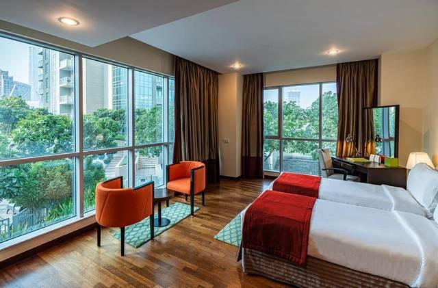 رامادا داون تاون دبي للشقق الفندقية من الشقق المُفضلة بين شقق فندقيه في سيتي ووك دبي