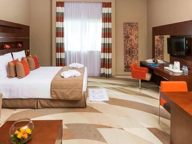 يضم نوفوتيل دبي البرشاء عدد كبير من أماكن الإقامة التي تتنوع لتتناسب مع أذواق الجميع