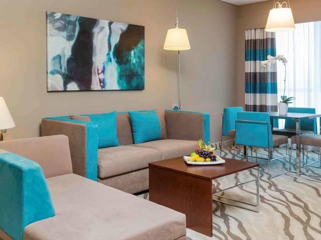 فندق نوفوتيل دبي البرشاء من الفنادق المُميزة لكونه يضم موقع مُميز وإطلالات رائعة
