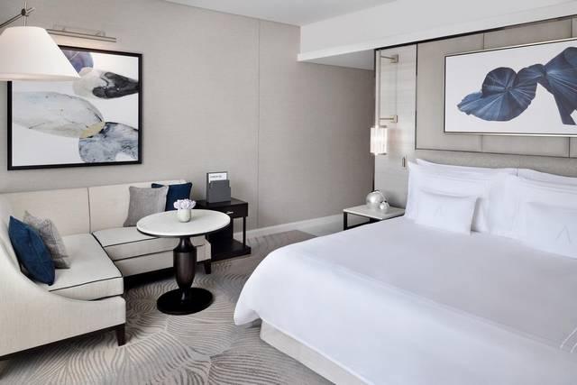 يُعد فندق ذا ادرس داون تاون دبي من أهم فنادق مطله على نافورة دبي ذات مرافق عناية يالصحة عديدة