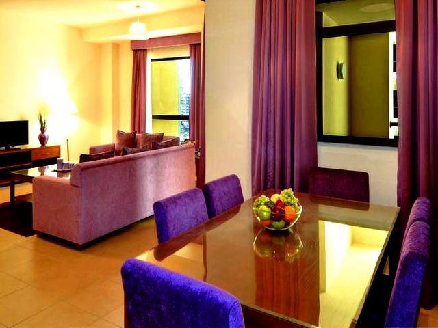 شقق فندقية جي بي ار دبي تُوّفر العديد من المرافق والخدمات