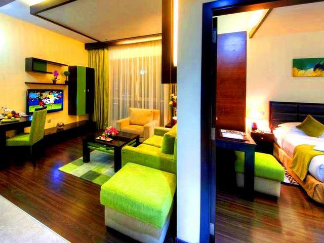تضم الشقق الفندقية في الجي بي آر كافة التجهيزات اللازمة لإقامة مريحة