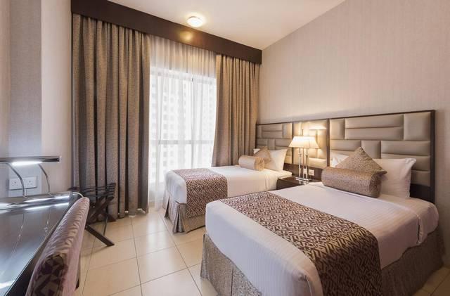 سها للشقق الفندقية من موندو من أرقى فنادق جي بي ار لكونها تضم مسابح مُتنوعة