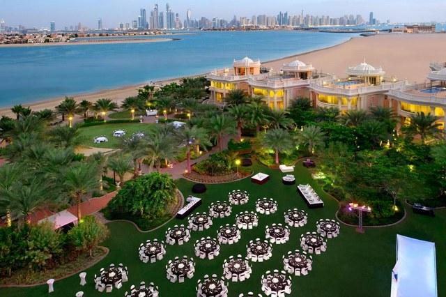 يقدم كمبنسكي النخلة دبي مساحات مخصصة للحفلات والمناسبات والاجتماعات