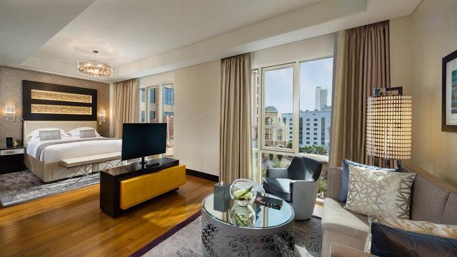 غُرف شاملة المرافق في فنادق دبي البرشا