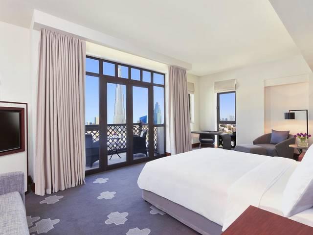 يُعد فندق المنزل دبي بوليفارد افضل فنادق دبي بسبب موقعه المُميّز