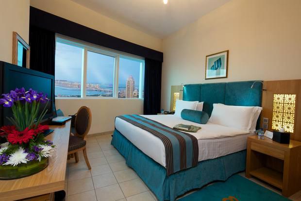 من أجمل شقق فندقية في مرسى دبي مع خدمات ومرافق متنوعة.