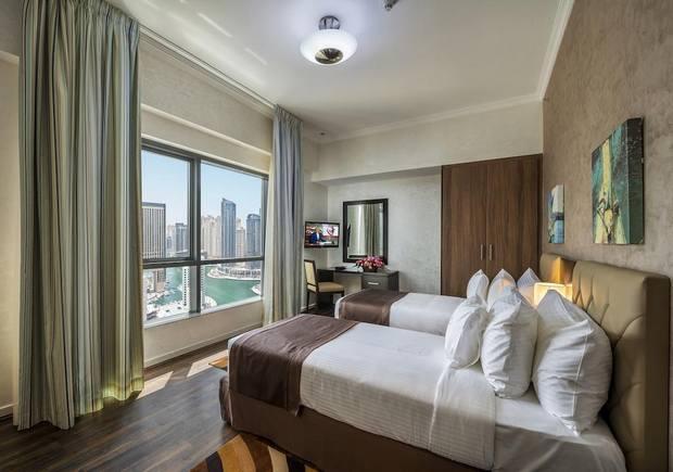 تقدم شقق سيتي بريمير خيار رائع للإقامة في شقق فندقية دبي مارينا