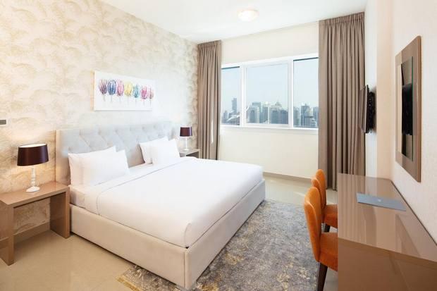 من أفضل شقق فندقية مارينا دبي التي تتميز بإطلالة جيدة على مرسى دبي.