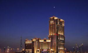 تميز فندق ماريوت الجداف دبي بتصميمه المعماري الرائع