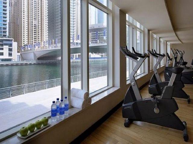 في فندق نوران مارينا للشقق الفندقية بوسع الضيوف ممارسة تمارينهم الرياضية اليومية