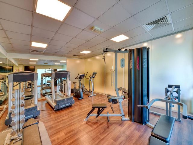 في فندق بيرل مارينا يمكن للضيوف ممارسة تمارينهم الرياضية اليومية