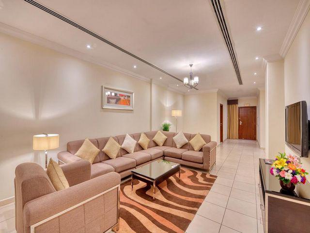 مساحة الشقق في فندق بيرل مارينا دبي مناسبة إلى حدٍ كبير