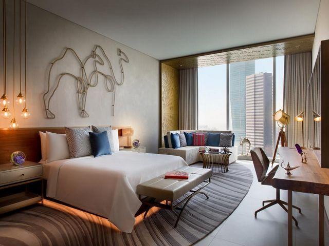كثير من زوّار رينسانس هوتيل دبي أُعجبوا بمساحة الغرف الواسعة