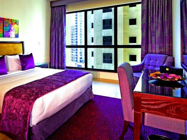فندق روضة امواج دبي من افضل شقق فندثية في دبي بسبب موقعها المميز والقريب من معالم دبي وخدماتها