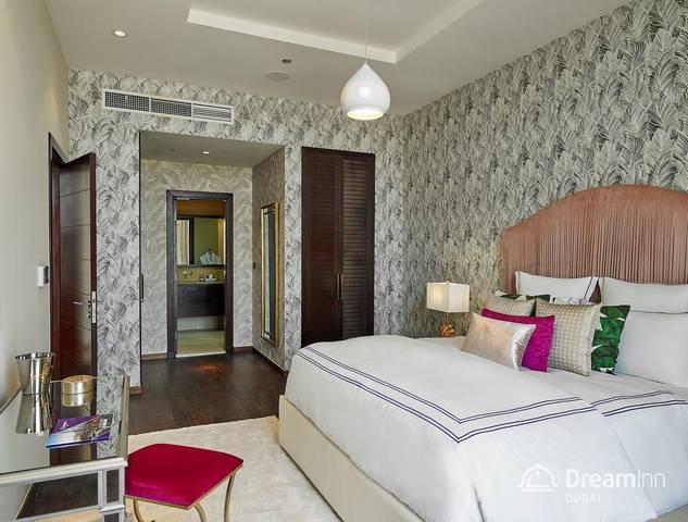 دريم إن تيرا للشقق الفندقية من الشقق التي تصلح لاستقبال رجال الاعمال دوناً عن شقق فندقية في جزيرة النخلة دبي