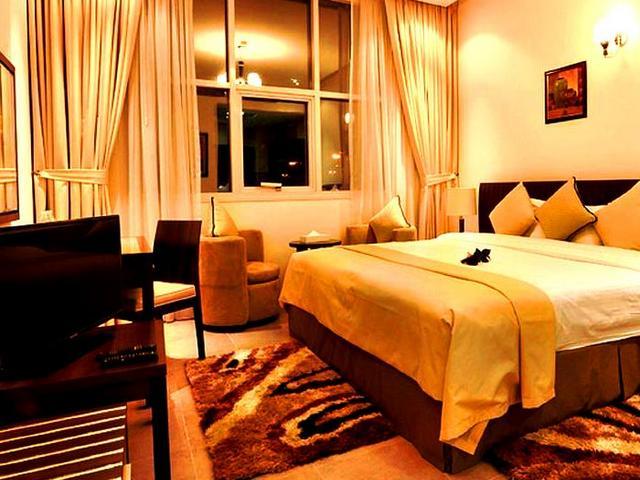 توفر الشقق الفندقية شارع الشيخ زايد مرافق ترفيهية متنوعة