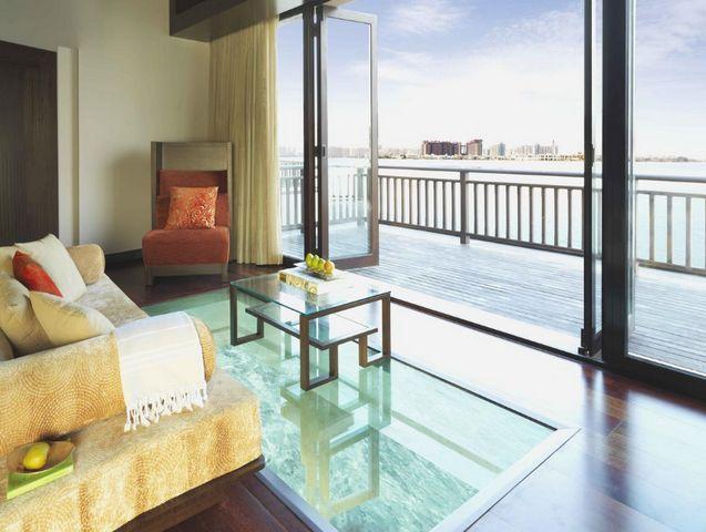 توفر منتجعات النخله في دبي غرف بإطلالة ساحرة