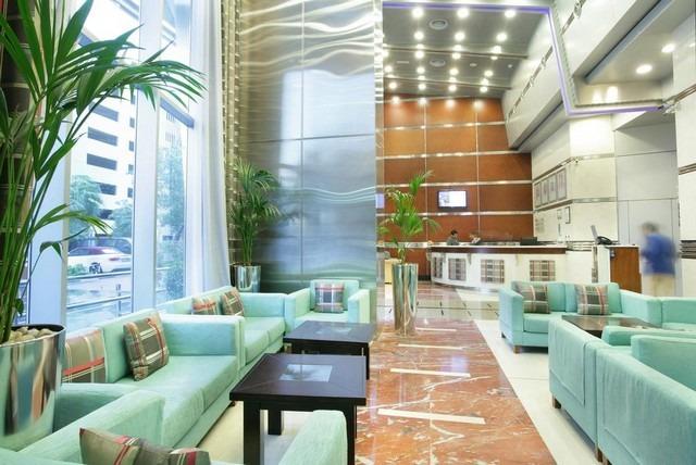 السلام للشقق الفندقية دبي يتميز بديكوراته الفاخرة
