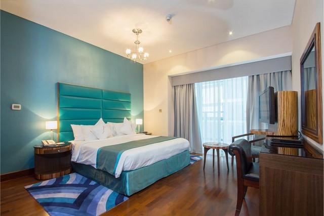 تتميز الغرف في سيتي بريميير للشقق الفندقية بمساحتها الواسعة وديكوراتها الانيقة
