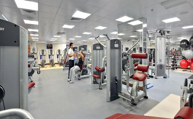 يمكنكم الاستمتاع بإجراء التمارين الرياضية في سيتي بريميير للشقق الفندقية