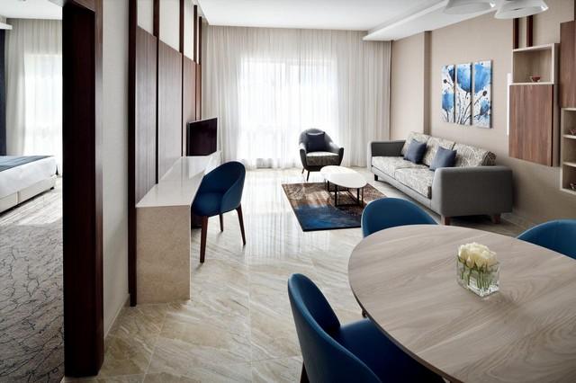 إلى جانب فنادق دبي مول يوجد أيضاً مجموعة رائعة من شقق فندقية قريبة من دبي مول