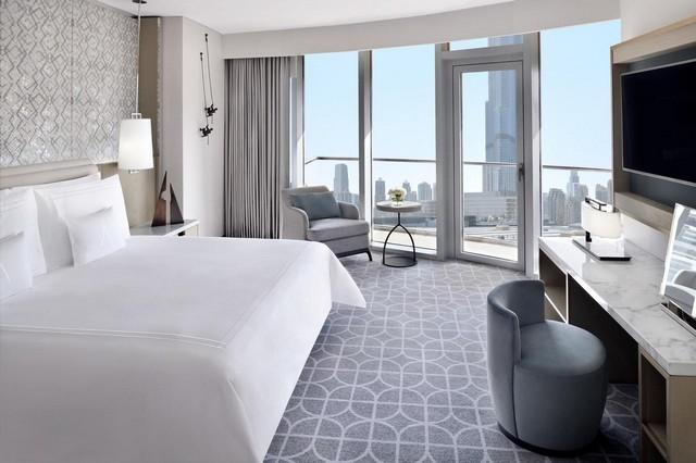 فندق العنوان دبي مول من أفضل فنادق دبي مول من حيث الإطلالات الرائعة.