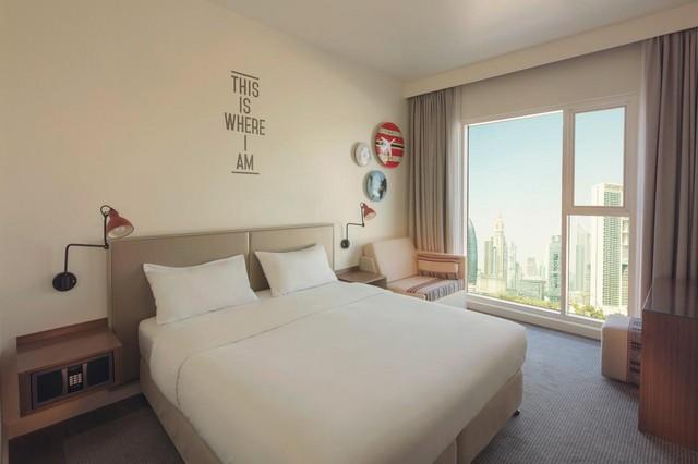 فندق روف داون تاون دبي من أفضل فنادق في دبي مول تُوّفر إطلالات.