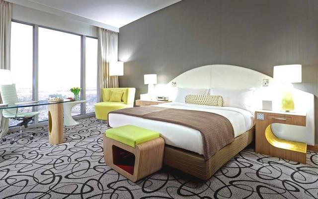 يجعلك فندق سوفيتيل دبي داون تاون أن تشعر بالإقامة العصرية وحولك مجموعة كبيرة من المرافق الترفيهية