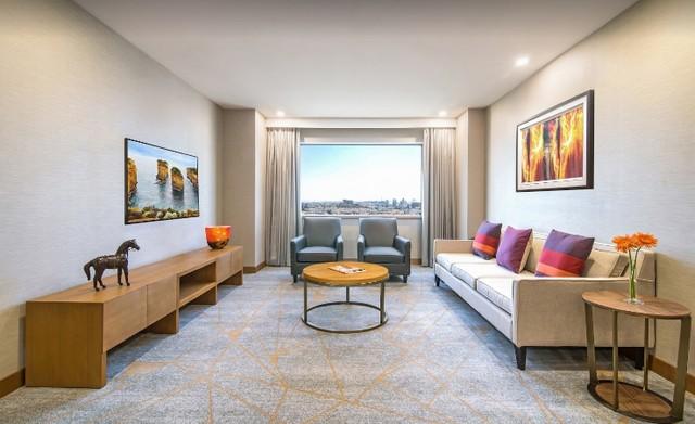 تتعدد مرافق الشقق داخل فندق حياة ريجنسي غاليريا ريزيدينس دبي